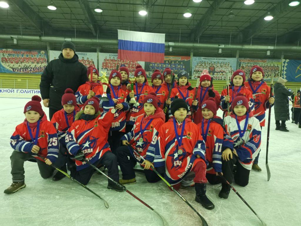 Команда Звезда, тренер Павлов А.И.