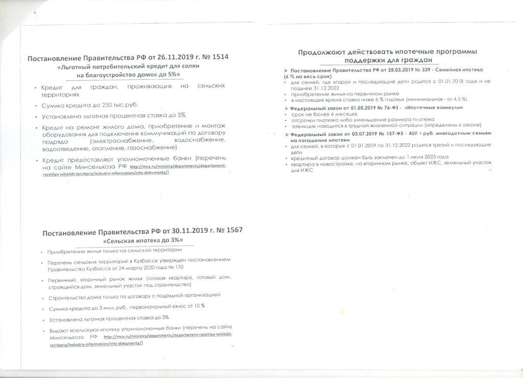 Меры поддержки бизнеса и граждан в России в условиях коронавируса
