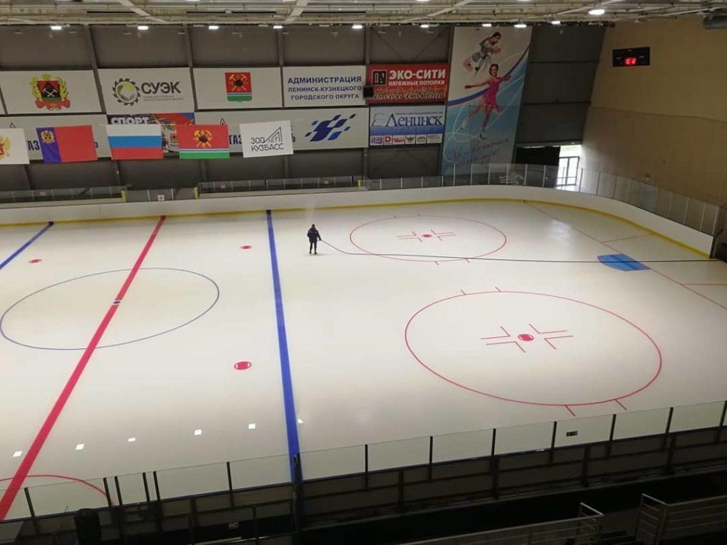 Заливка льда