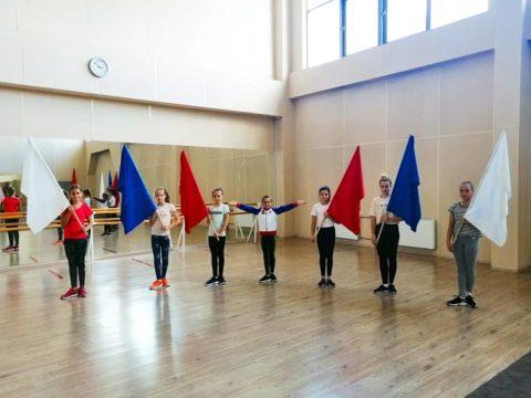 Воспитанники отделения фигурного катания МБФСУ СШ