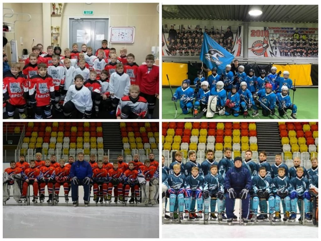 Хоккейные команды МБФСУ СШ